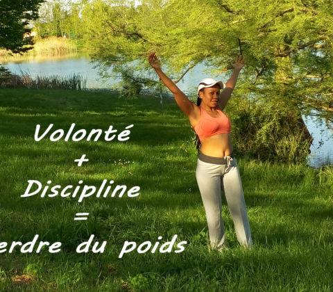 De la volonté et de l'auto-discipline pour perdre du poids