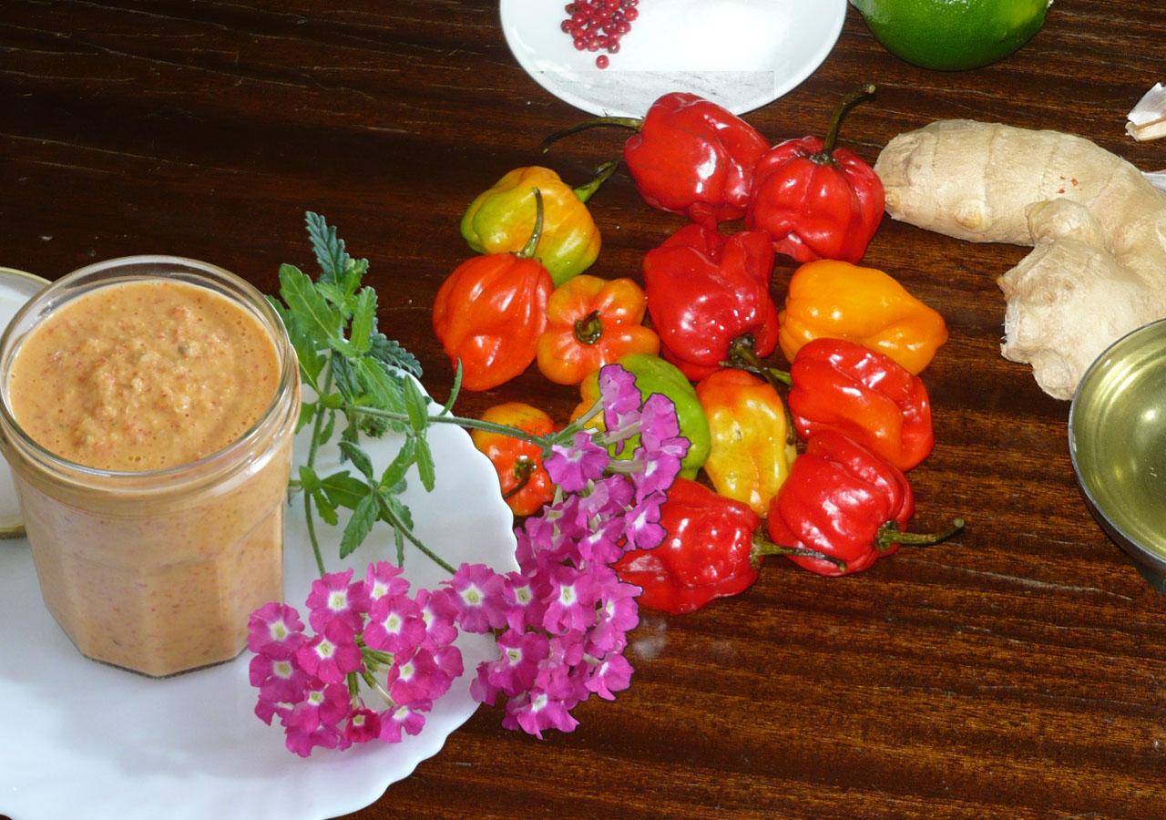La pâte de piment à la malgache (Sakay)