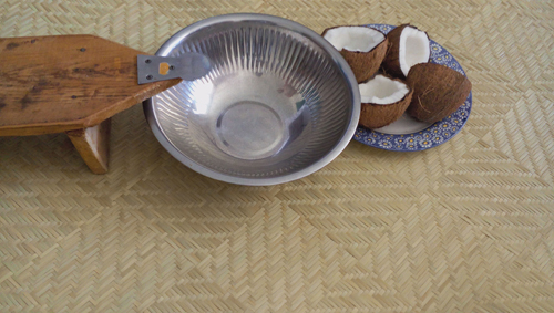 La râpe de coco