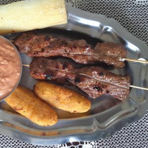 Brochettes de bœuf ou masikita