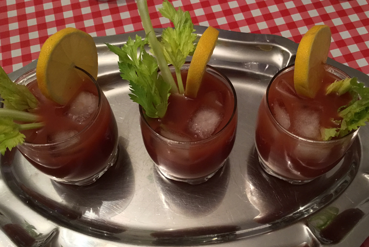 LE COCKTAIL BLOODY MARY EN AMOUREUX