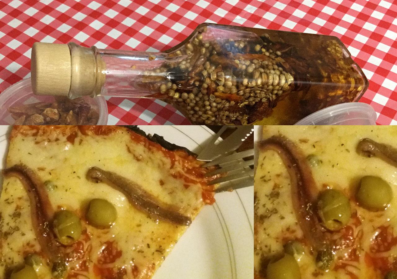 L'huile pimentée pour pizza