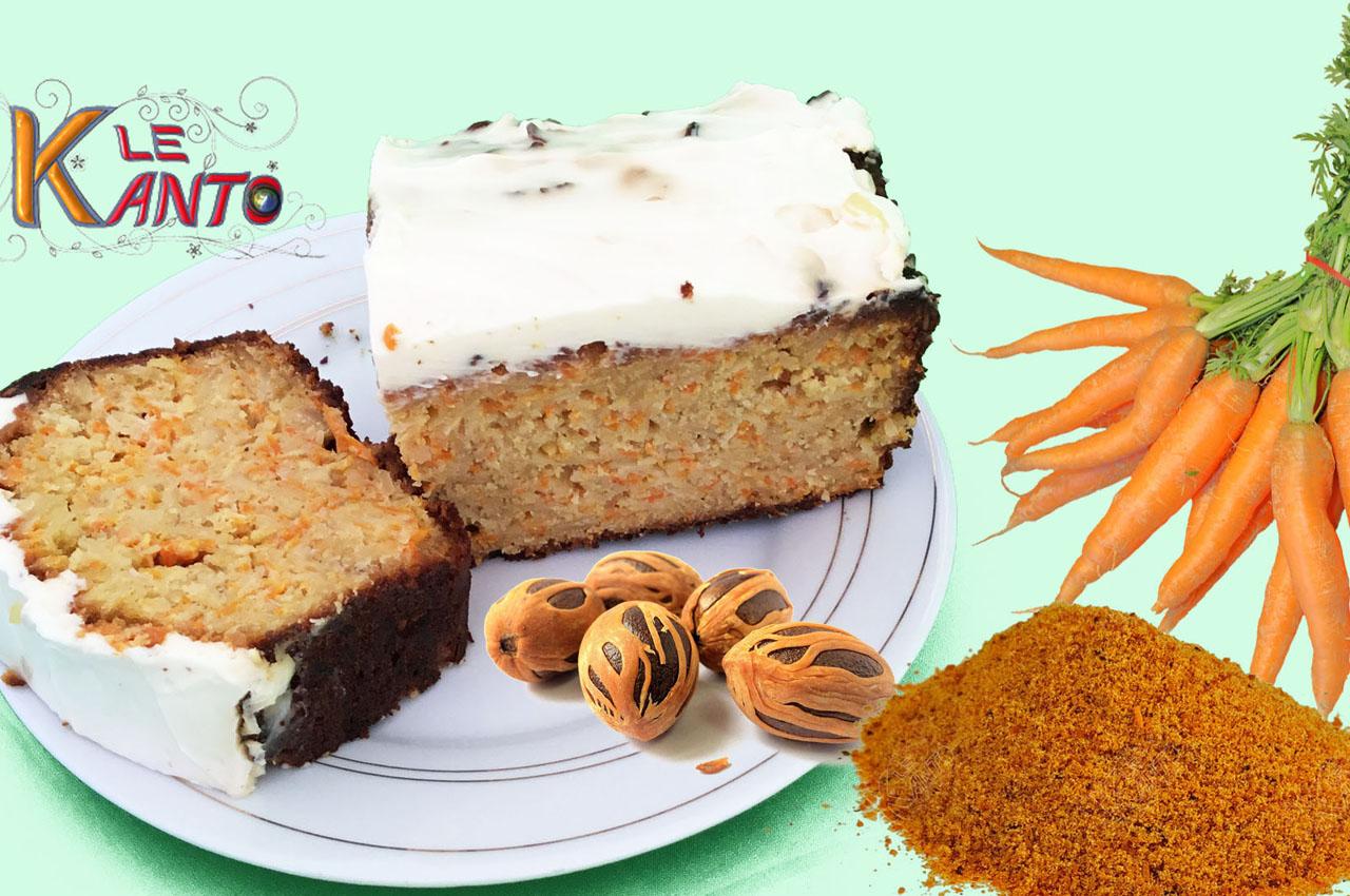 GÂTEAU DE CAROTTES AUX ÉPICES-CARROT CAKE