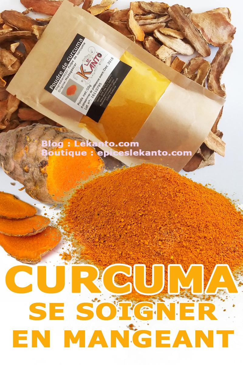 Utilisation du curcuma