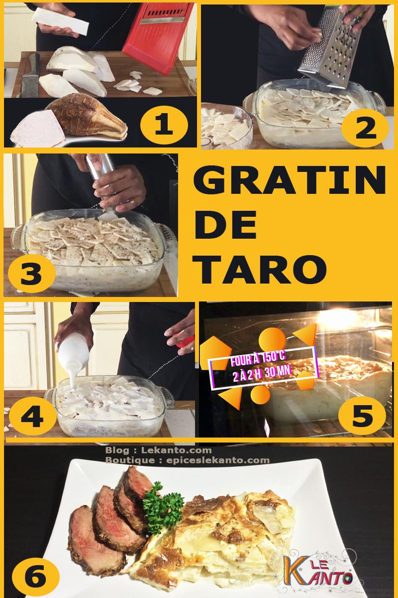 Comment préparer le taro en France