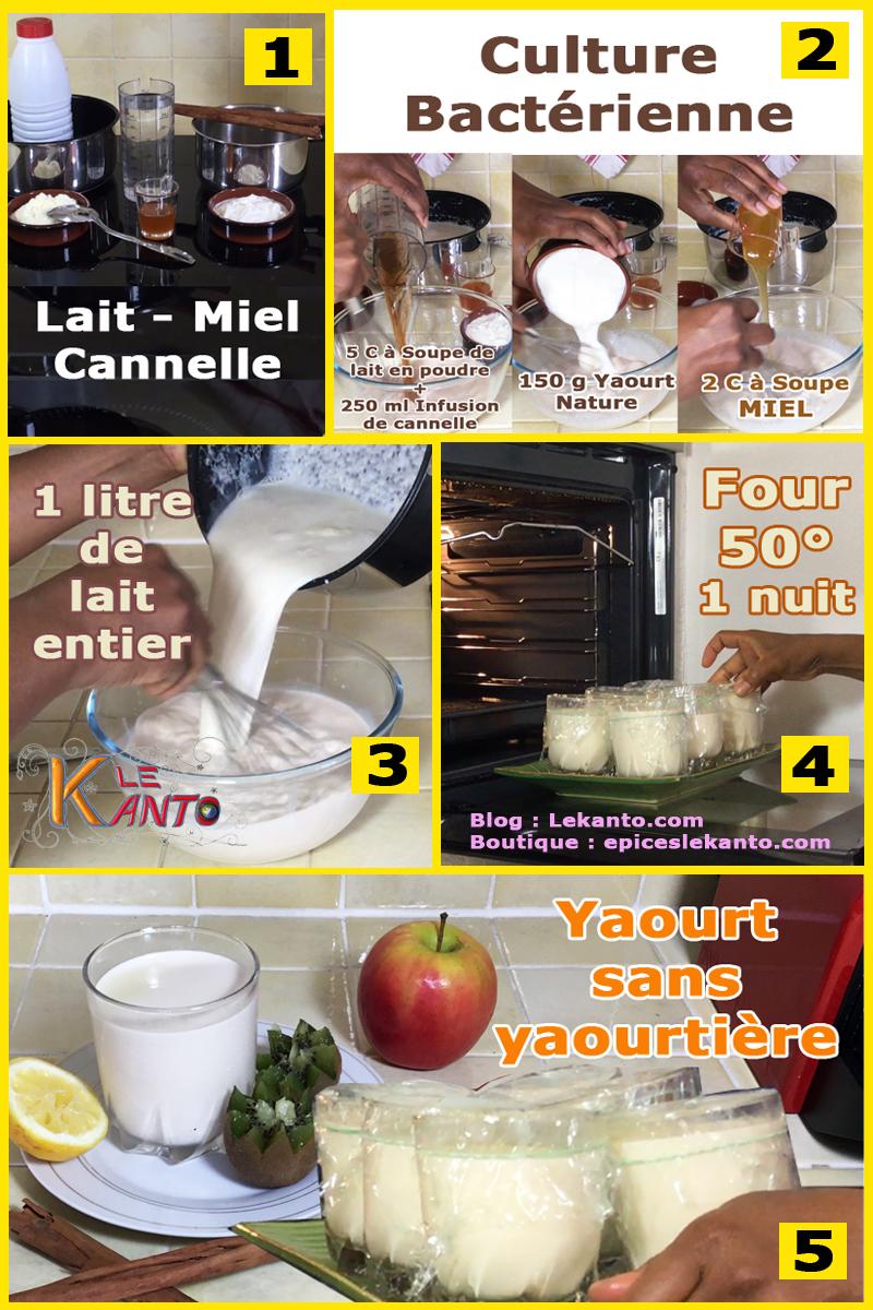 Faire du yaourt classique