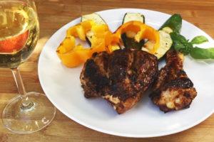 Marinade de poulet au barbecue