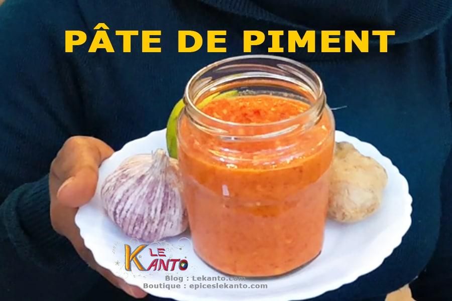 Pâte de piment à la malgache