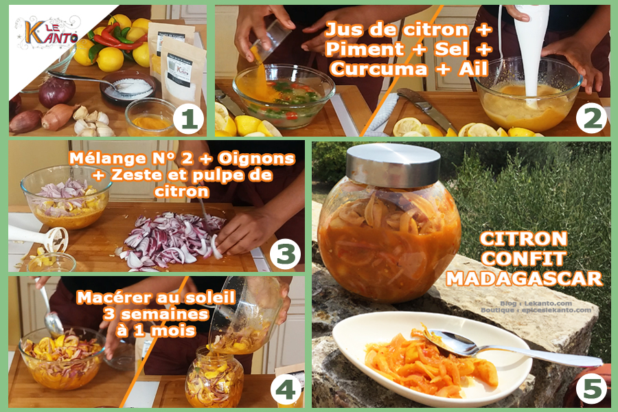 Comment faire du citron confit