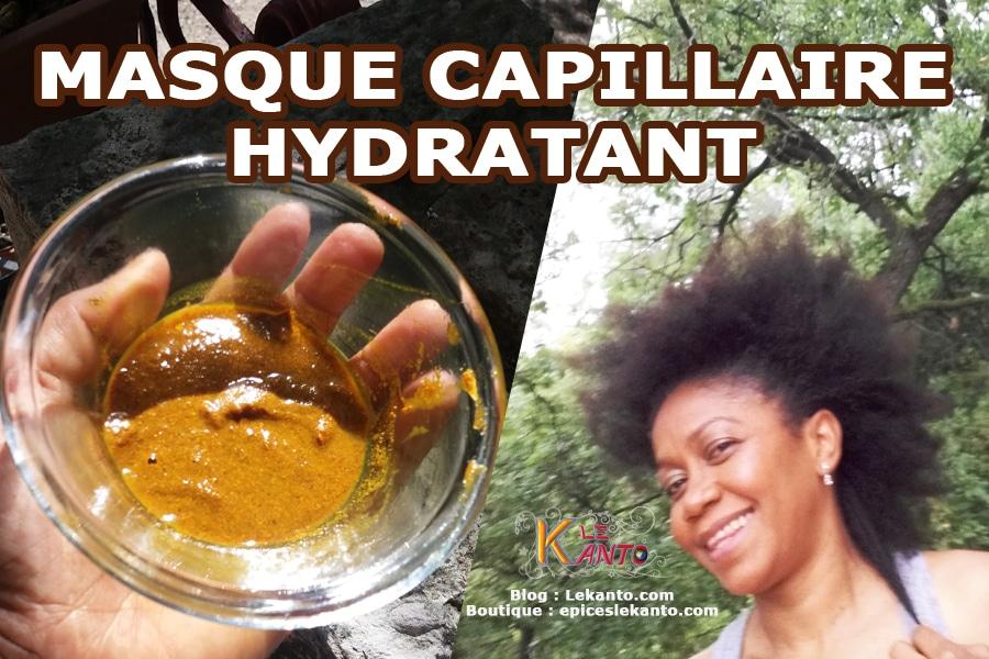 Masque capillaire hydratant
