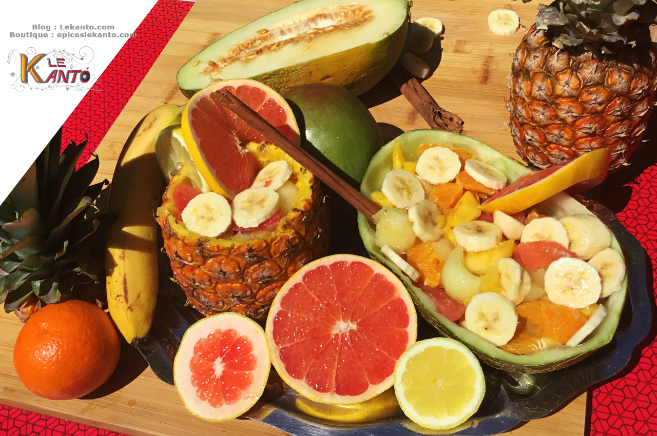 SALADE DE FRUITS – DESSERT D'ÉTÉ