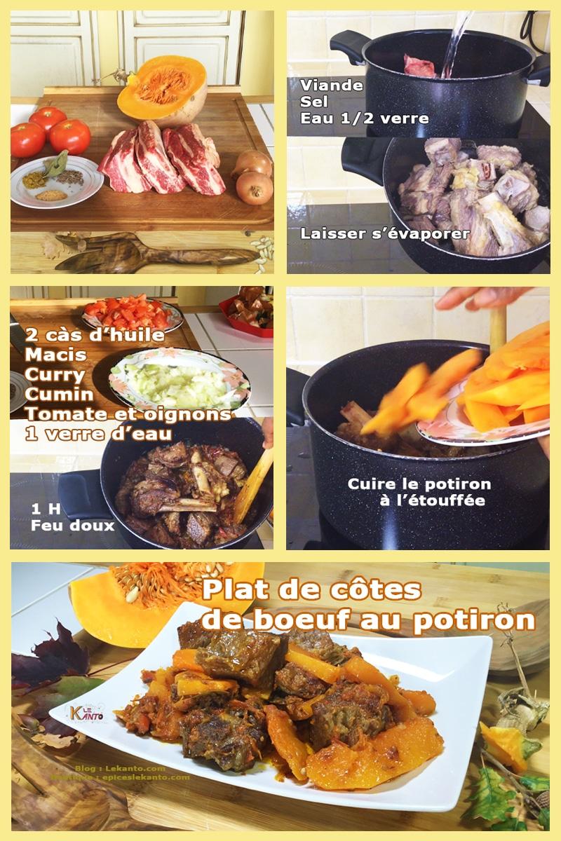 Mijotée de bœuf au potiron