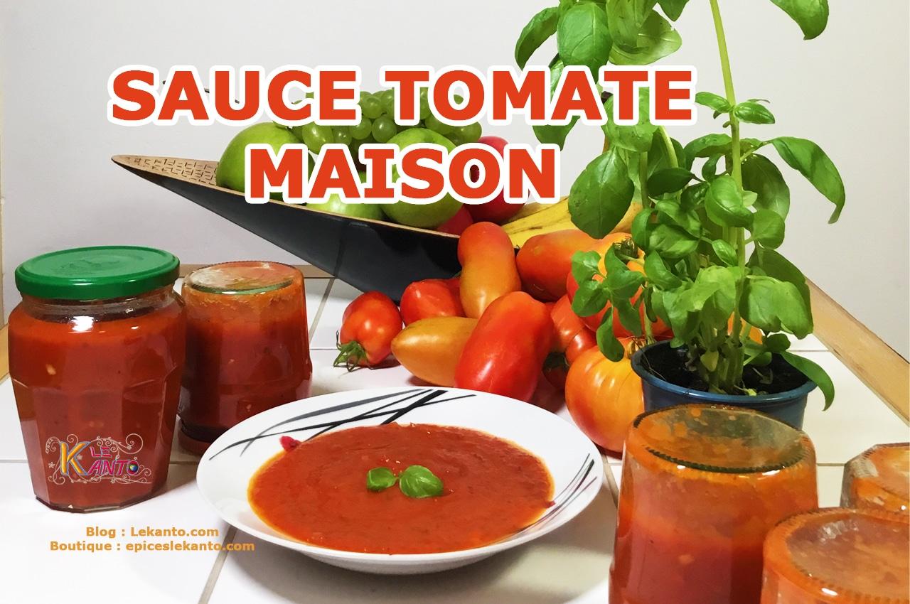 SAUCE TOMATE MAISON | TOMATES EN CONSERVE