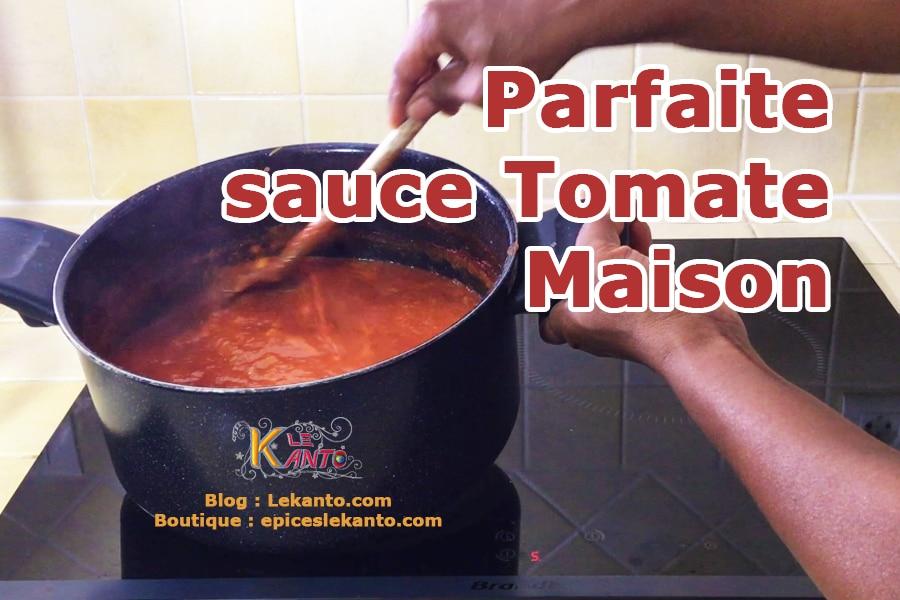 Tomate en sauce