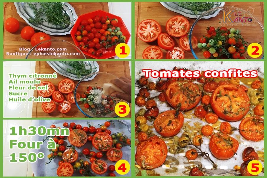 Tomates au four